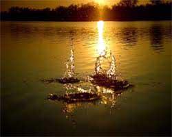 buchi nell'acqua
