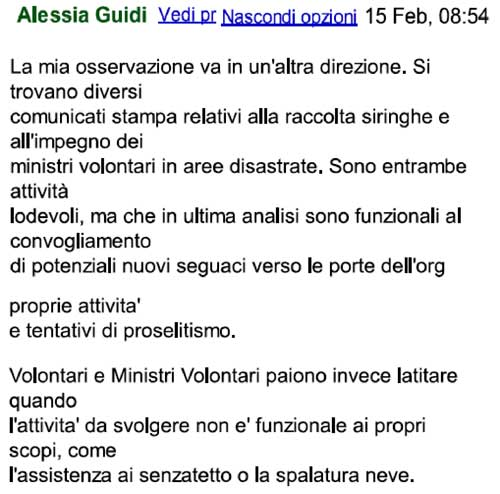 post alessia guidi