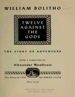 copertina libro di bolitho