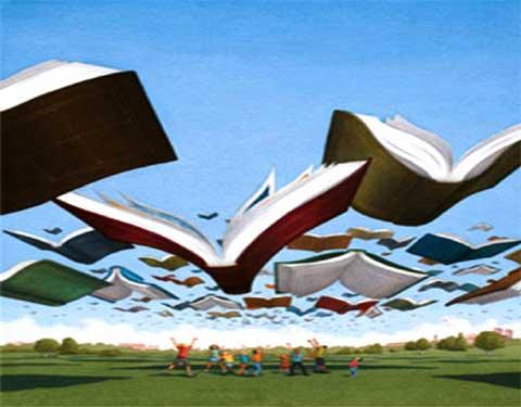 libri in volo