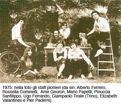 foto gruppo pionieri