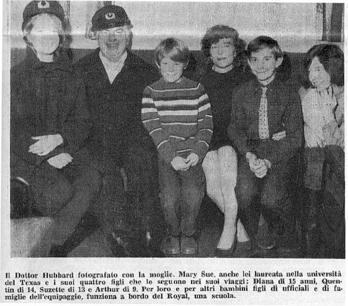 L. Ron Hubbard e famiglia
