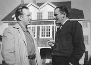 L. Ron Hubbard con Morgan