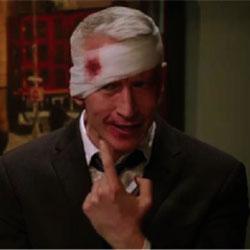 fasciatura sanguinante alla testa