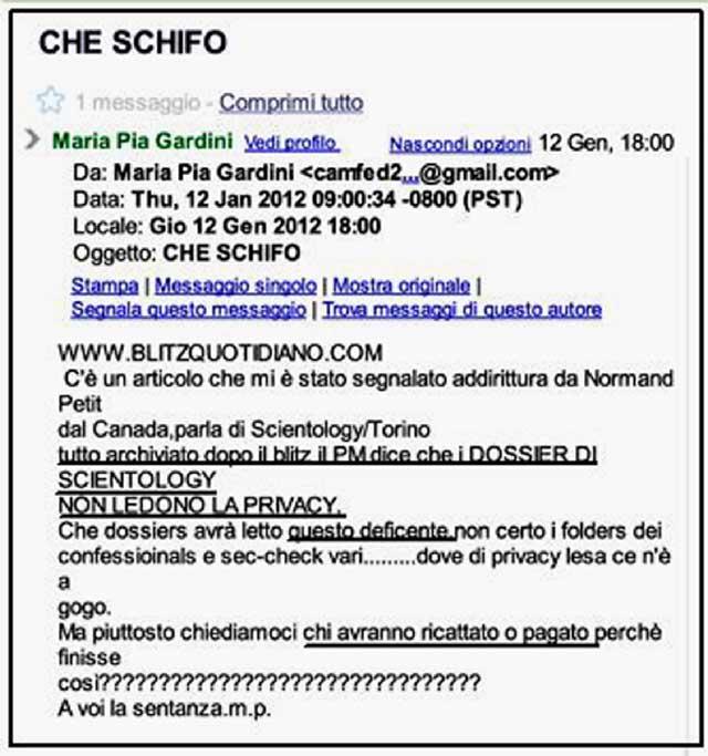 post di Maria Pia Gardini