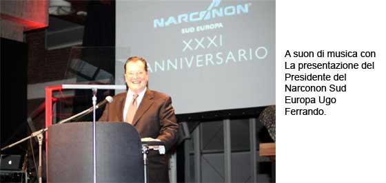 Narconon 31° anniversario