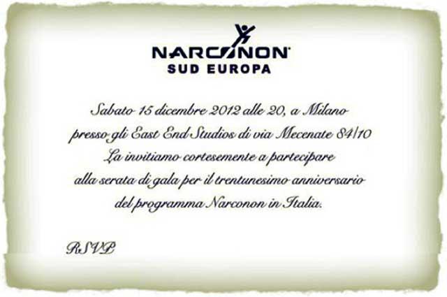 invito Narconon