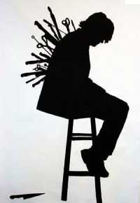 accoltellamento alla schiena