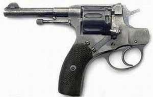pistola che spara al contrario