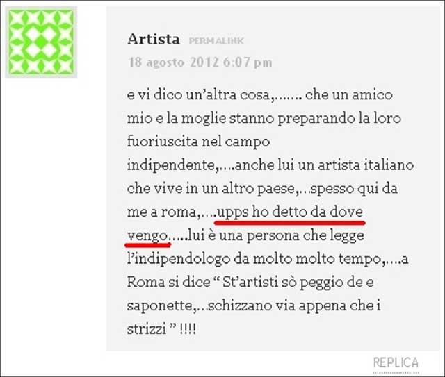 post di artista