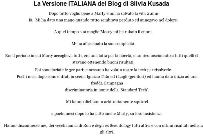 blog di silvia kusada