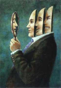 effetto matrioska allo specchio