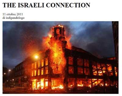 L'Org di Tel Aviv che brucia
