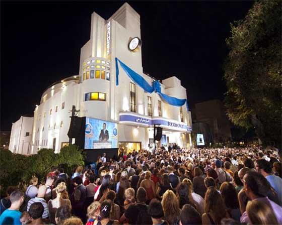 Inaugurazione dell'Org Ideale di Tel Aviv