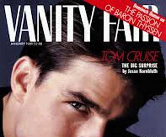 copertina dei vanity fair USA