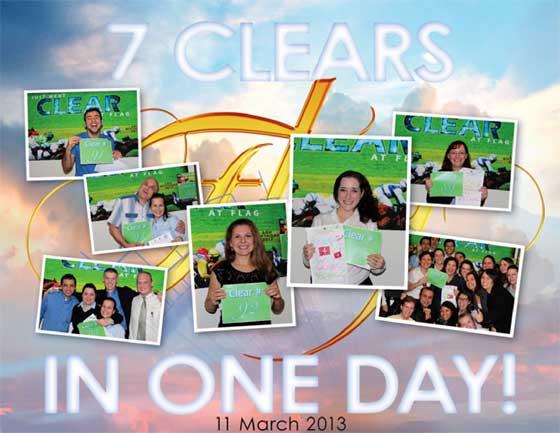 7 lear in un giorno