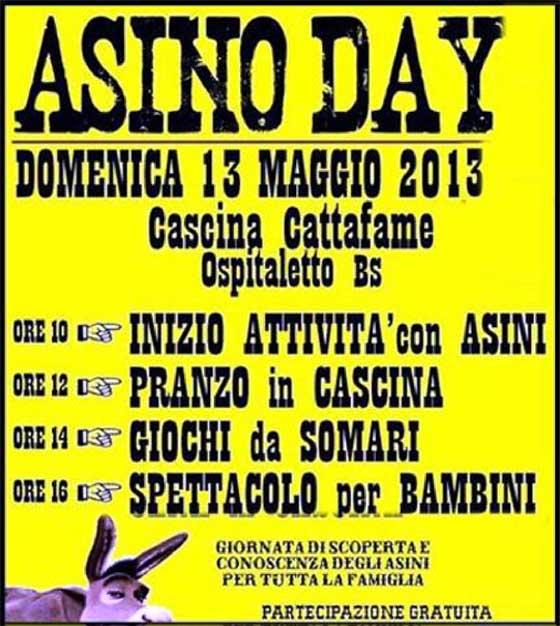 asino day