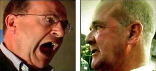 John Sweeney    &  Marty Rathbun